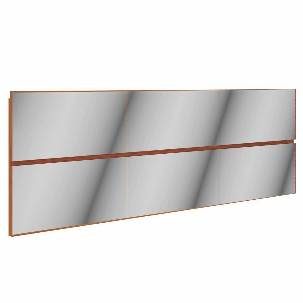Cabeceira Painel com Espelhos 1,80x0,60m W361 Dalla Costa