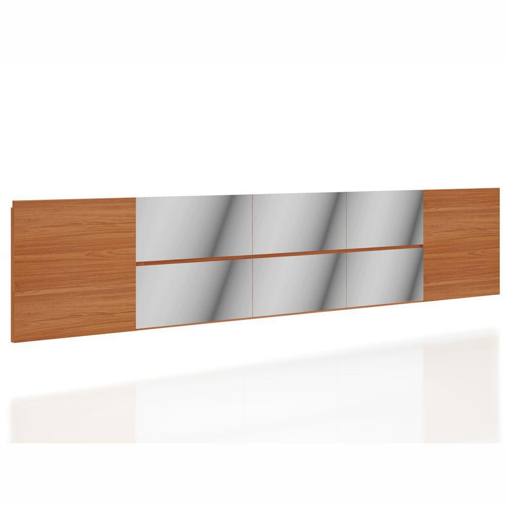 Cabeceira Painel Suspensa com Espelhos 3,00x0,60m W364 Dalla Costa