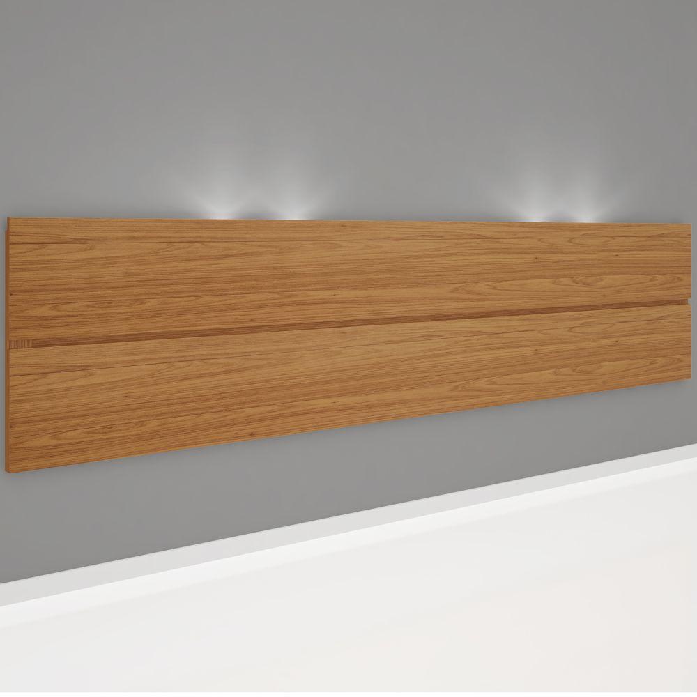Cabeceira Painel Suspensa Luzes LED 2,70x0,60m W362L Dalla Costa