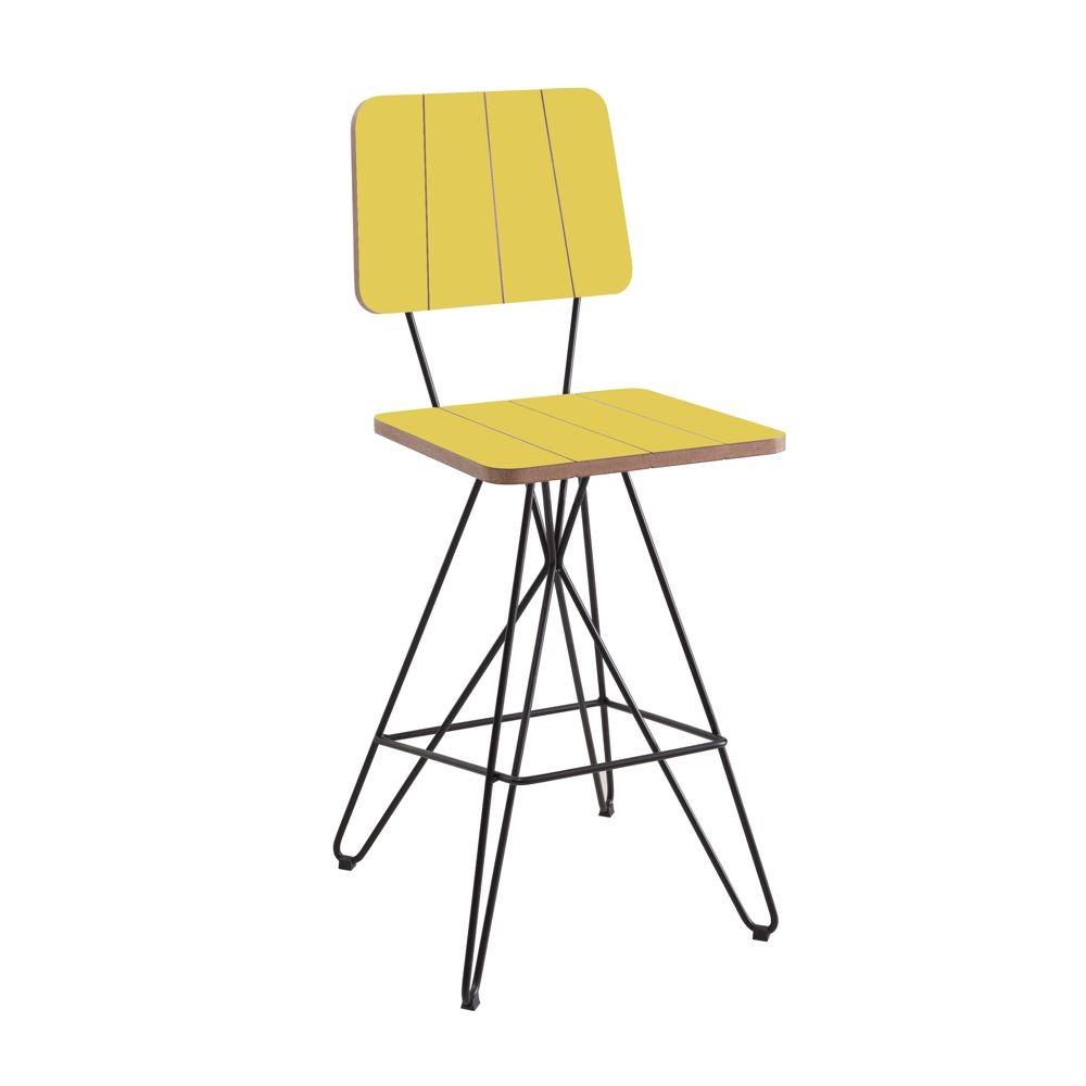 Cadeira Banqueta Costela 1,00m DAF Mobiliário