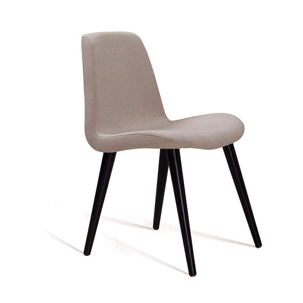 Cadeira de Jantar Eames Pés Palito Estofada F89 DAF