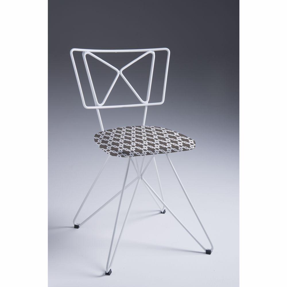 Cadeira de Jantar em Aço Butterfly F93 DAF
