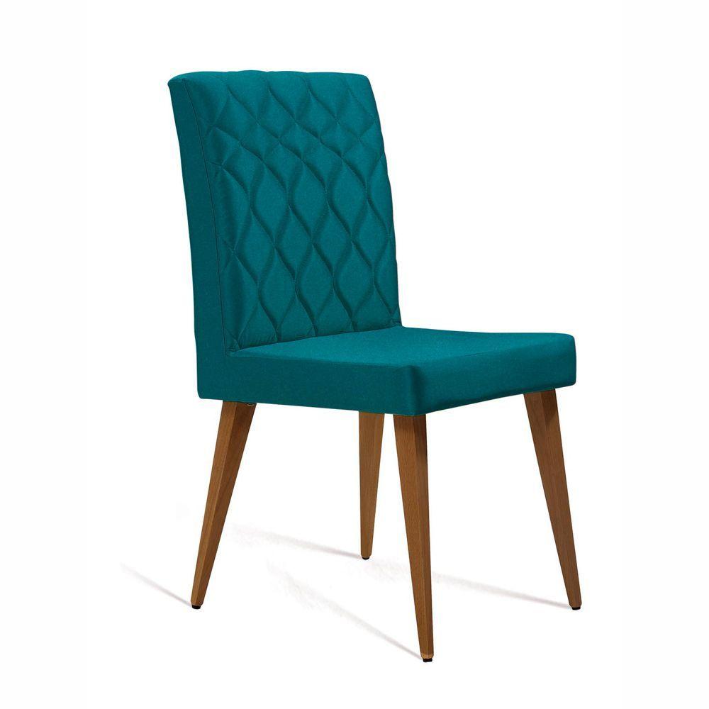 Cadeira de Jantar Estofada Julia Matelassê 8107 DAF