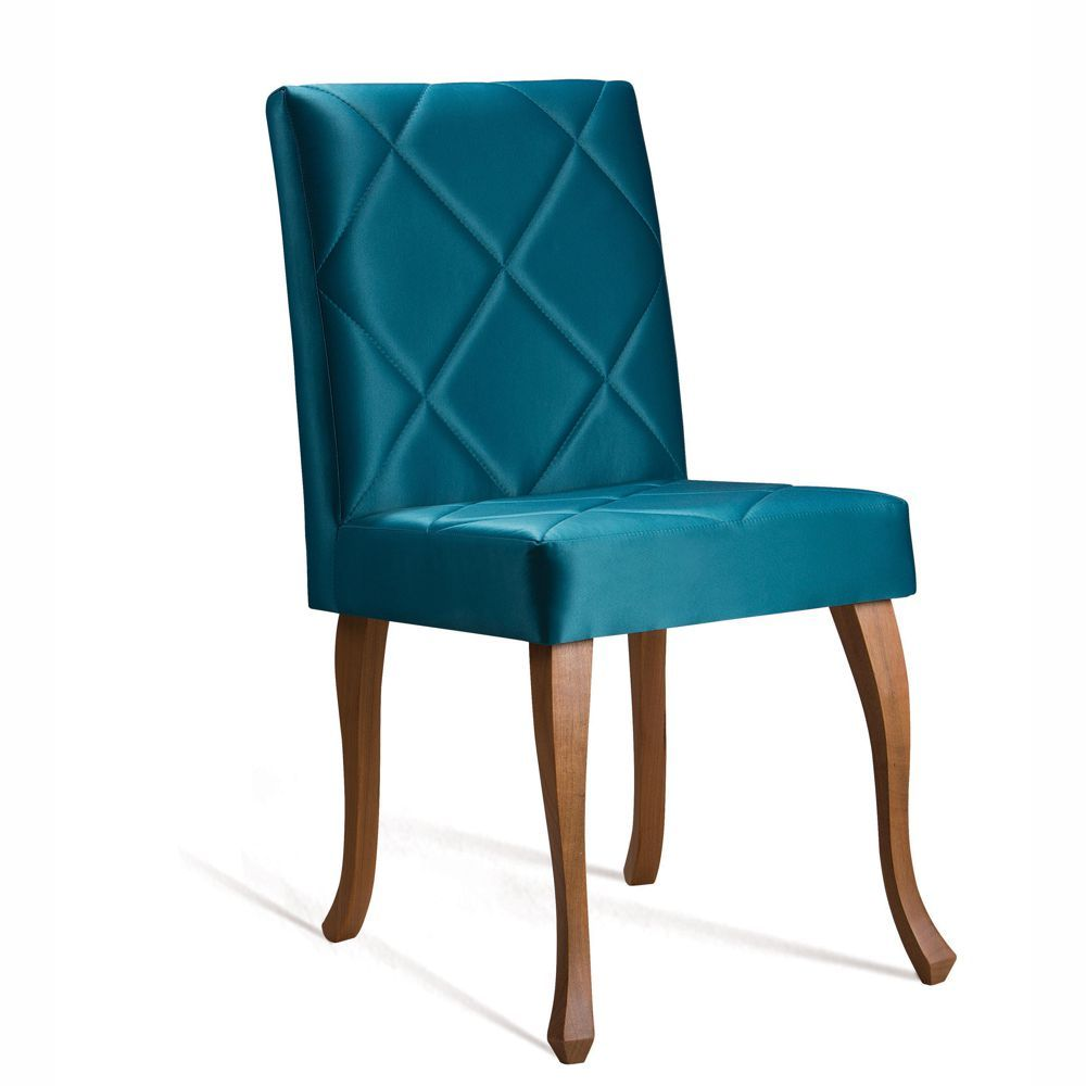 Cadeira de Jantar Estofada Juliete Matelassê 8108 DAF