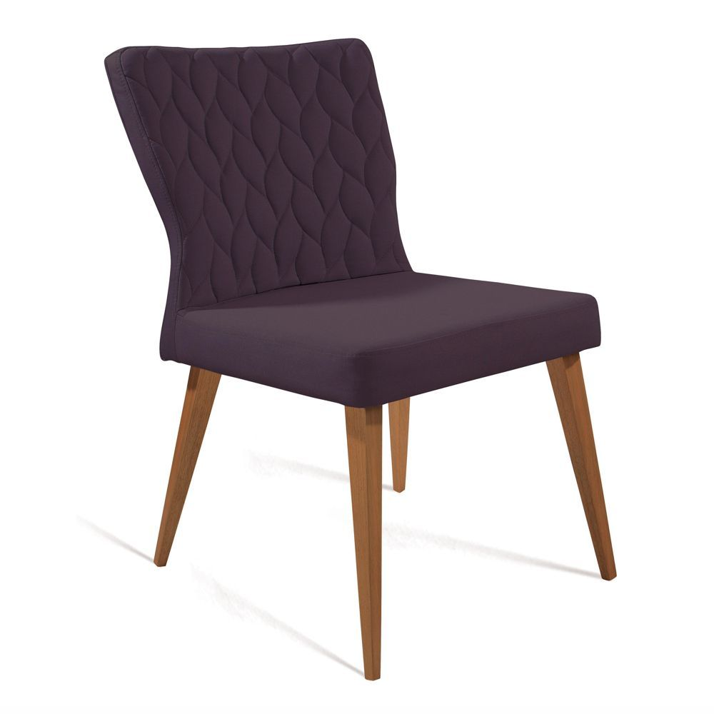 Cadeira de Jantar Estofada Silhueta Matelassê 8114 DAF