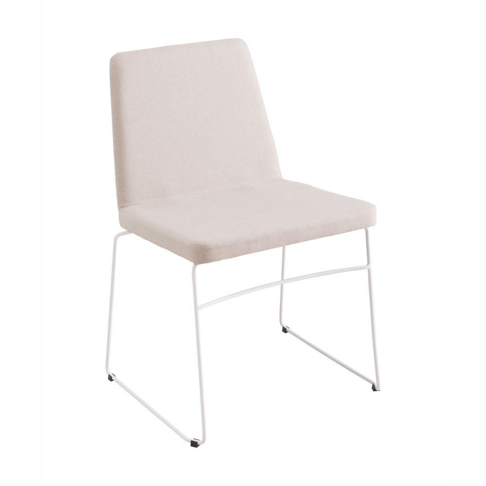 Cadeira Paris Pés em Aço Diversas Estampas F41 DAF