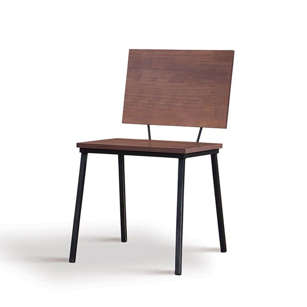 Cadeira Sala de Jantar em Aço e Madeira Antonella DAF Mobiliário