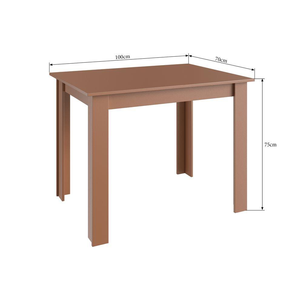 Canto Alemão Completo Estofado com mesa e banco reto 518.002 Canção