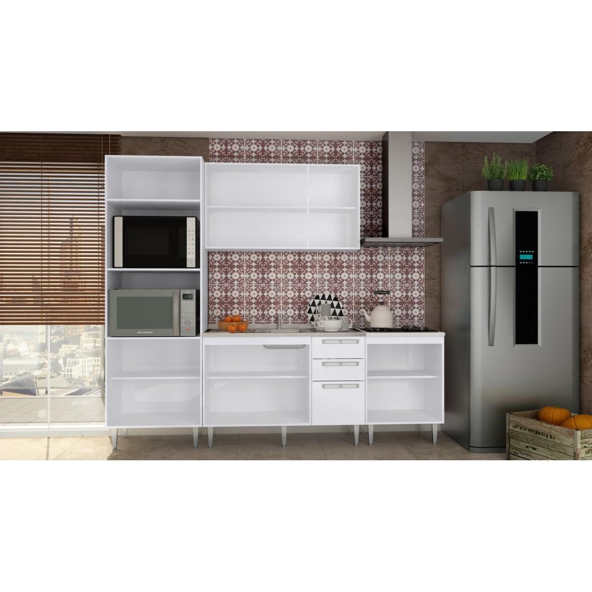 Conjunto Cozinha Modulada Completa 15 Mia Coccina