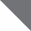 Branco/Cinza Escuro