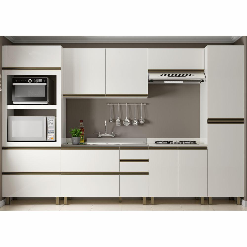 Cozinha Completa Modulada Vitória Lovere 6 Peças MDF K111 Dalla Costa