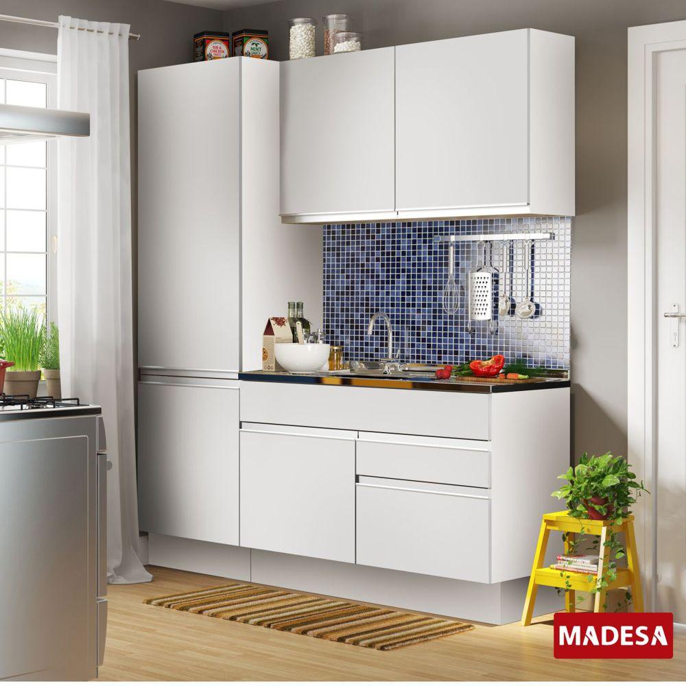 Cozinha Completa Pequena Planejada Glamy Ana Madesa Na M Vel Na