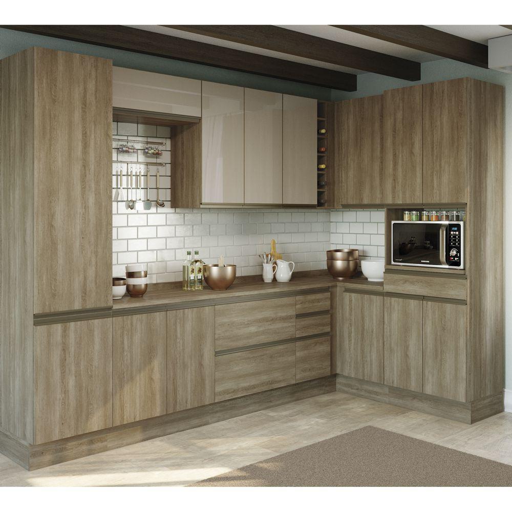 Cozinha Completa Planejada 11pc Maxxi CB362 Kappesberg