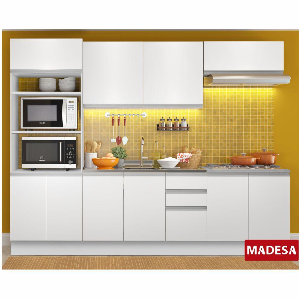 Cozinha Completa Planejada 5 peças Grécia Glamy Madesa