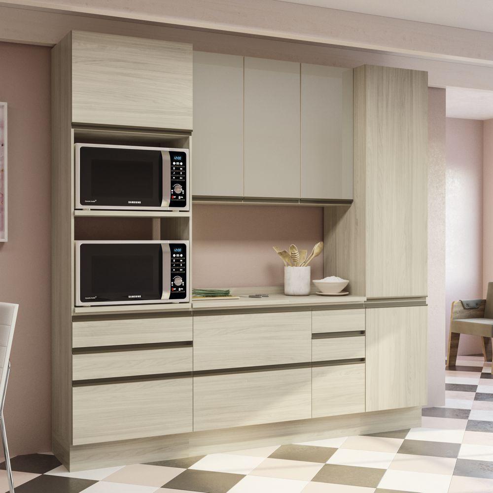 Cozinha Completa Planejada 5pc Maxxi CB342 Kappesberg
