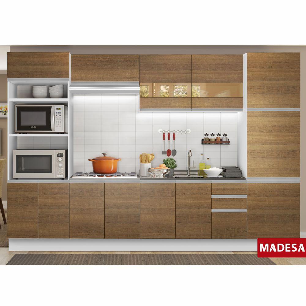 Cozinha Completa Planejada 6 peças Geórgia Glamy Madesa