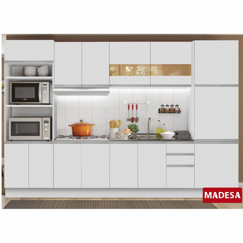 Cozinha Completa Planejada 6 peças Lucena Glamy Madesa
