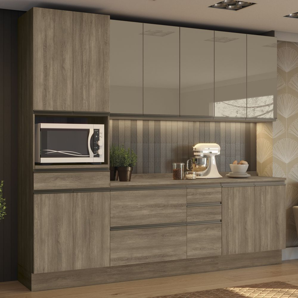 Cozinha Completa Planejada 7pc Maxxi CB338 Kappesberg