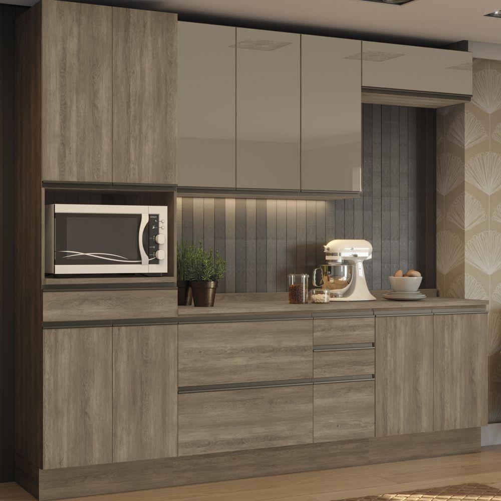 Cozinha Completa Planejada 7pc Maxxi CB339 Kappesberg