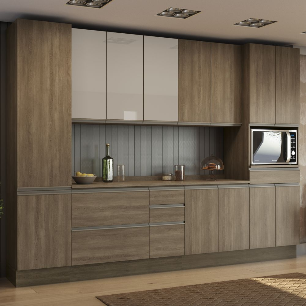 Cozinha Completa Planejada 8pc Maxxi CB366 Kappesberg