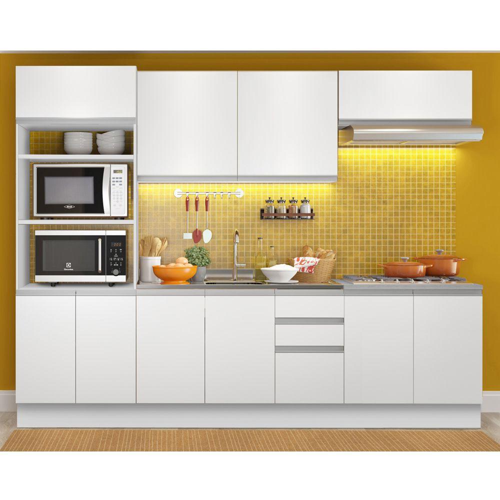 Cozinha Completa Viena 10 Portas 3 Gavetas GRGL270002 Madesa