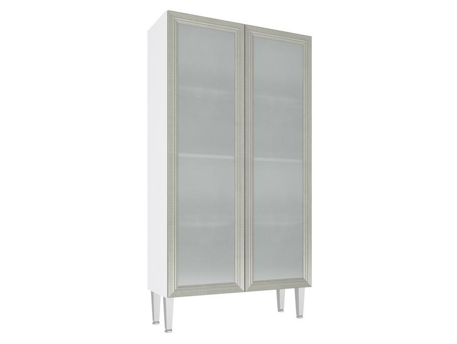 Cristaleira Baixa 2 portas vidro 80cm CZ707 Mia Coccina