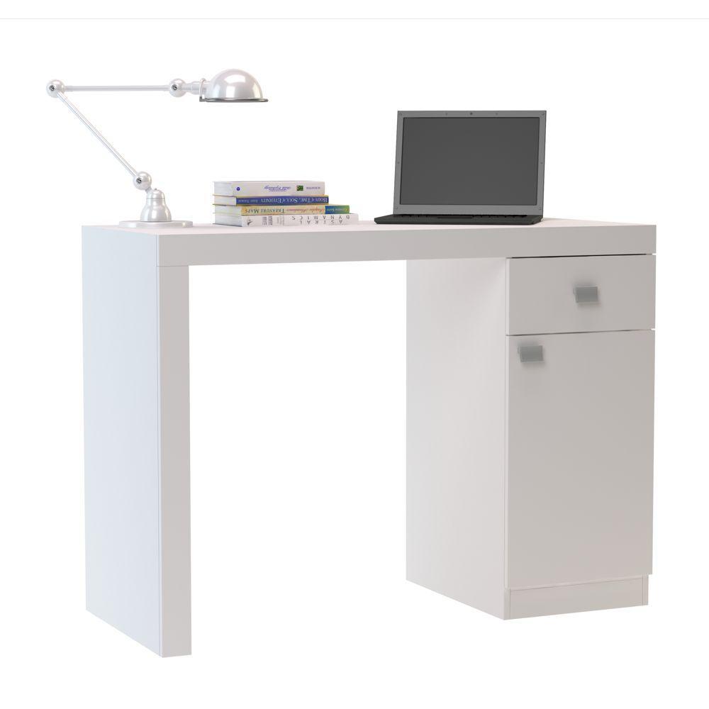 Escrivaninha 1 Porta 1 Gaveta 110cm BC 35 BRV Móveis