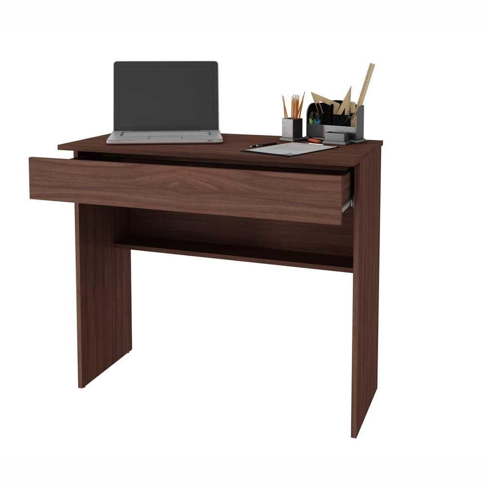 Escrivaninha 90cm 1 Gaveta BHO 21 BRV Móveis
