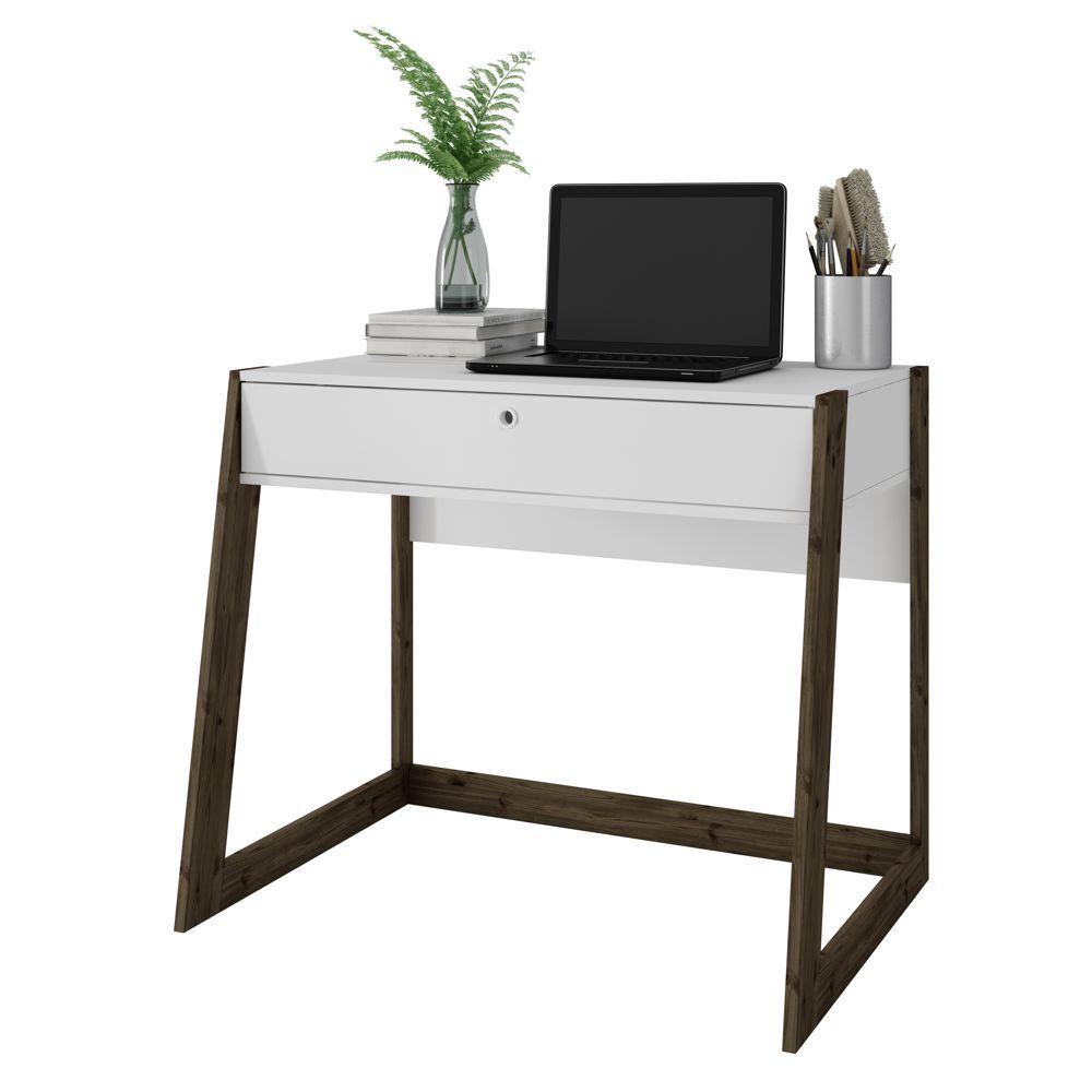 Escrivaninha Mesa para Computador Com Gaveta 94cm BC 50 BRV Móveis