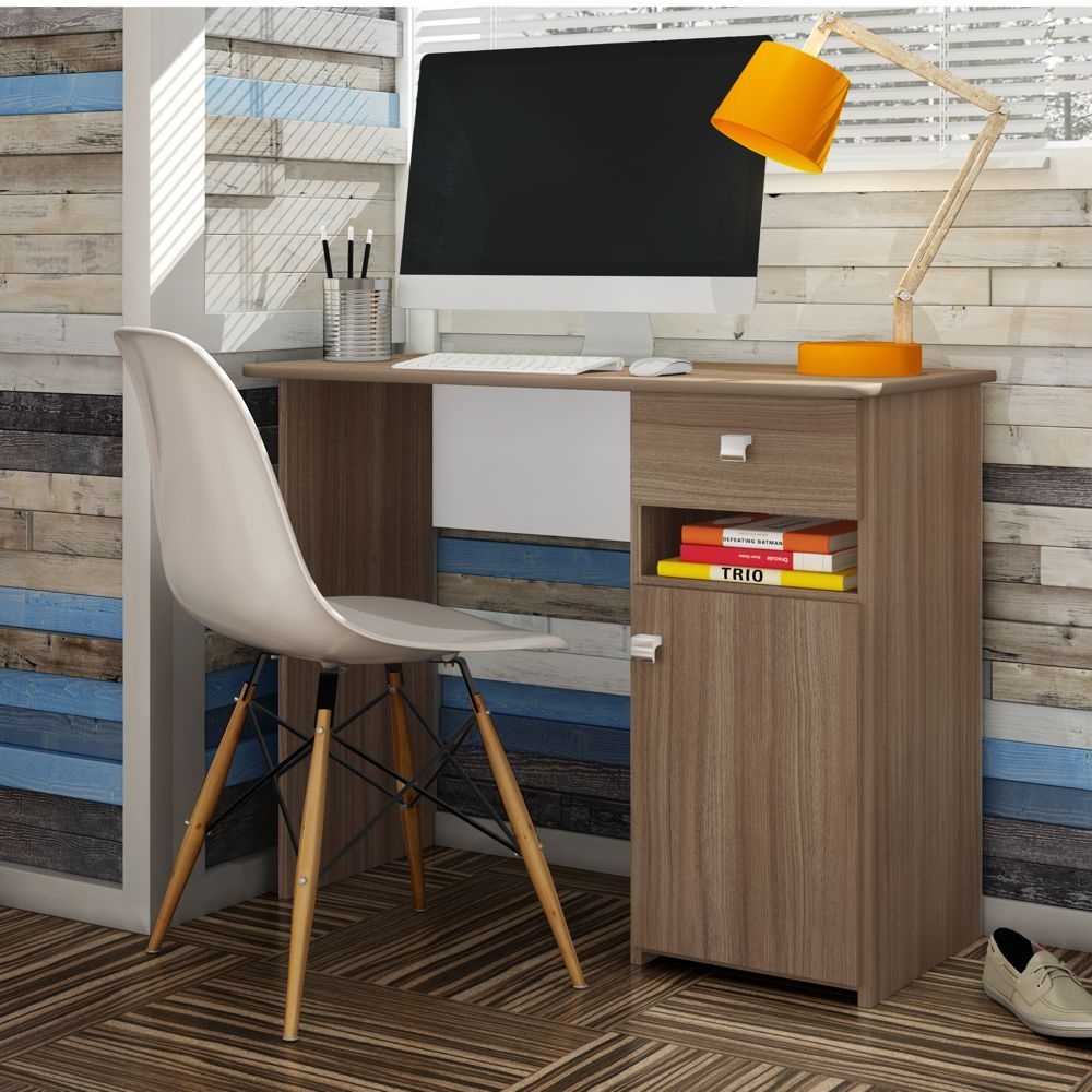Escrivaninha Mesa para Notebook Colegial MC7007 Art in Móveis