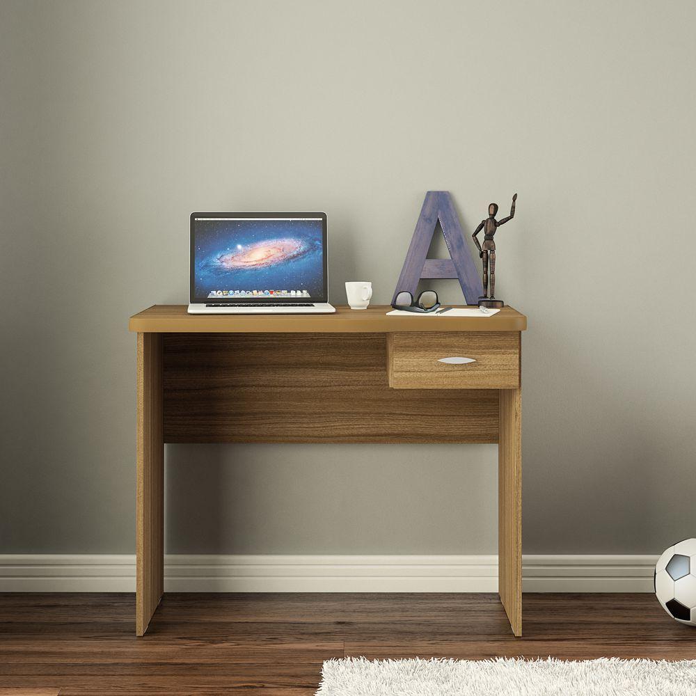 Escrivaninha ou Mesa Computador com Gaveta Resende Politorno