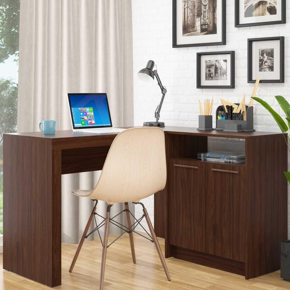 Escrivaninha para Estudos 2 Portas 123cm BC 65 BRV Móveis