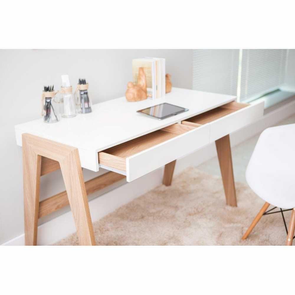 Escrivaninha Retrô 2 gavetas 120cm 26105 Trend Artesano