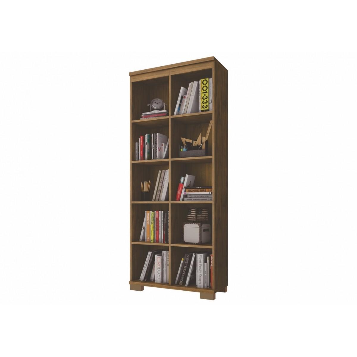 Estante Colméia para Livros 10 Nichos MDF C605 Dalla Costa