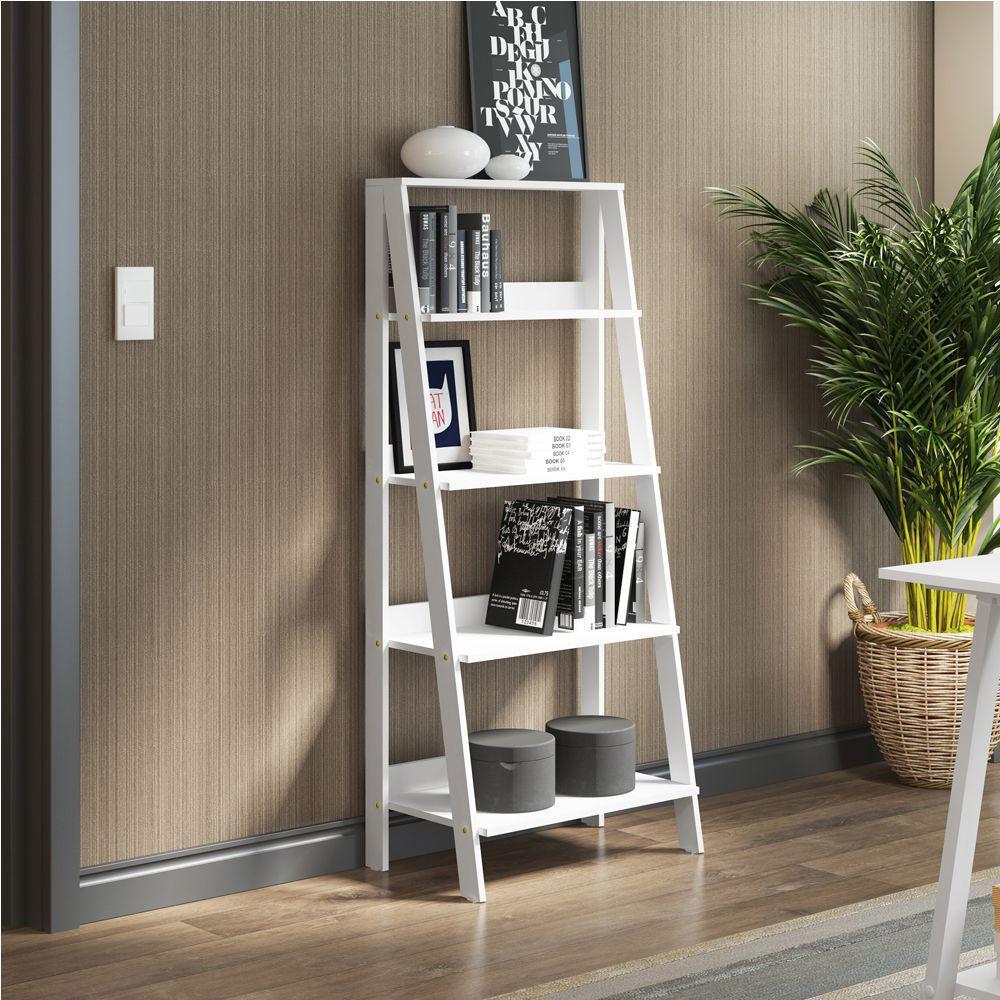 Estante Escada para Livros com 4 Prateleiras 6990 Madesa