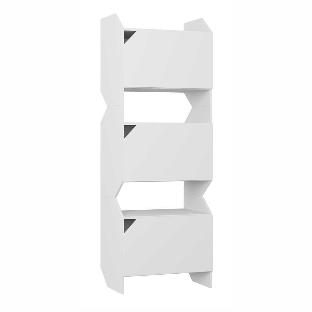 Estante Multiuso Triplo com Portas 60cm 1005 Soul BE Mobiliário