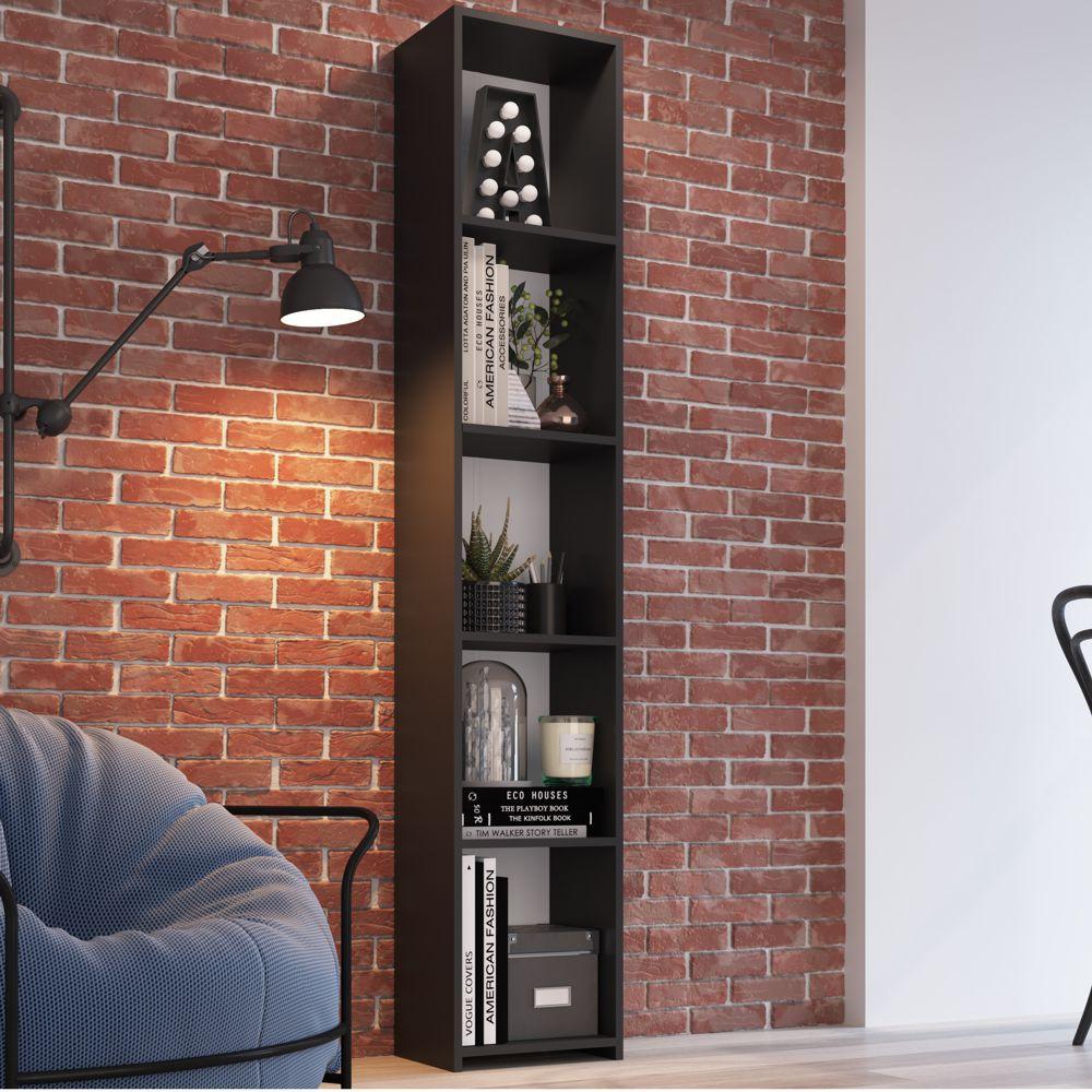 Estante para Livros Multiuso organizadora alta 33cm Funcionale MO050 Art in Móveis