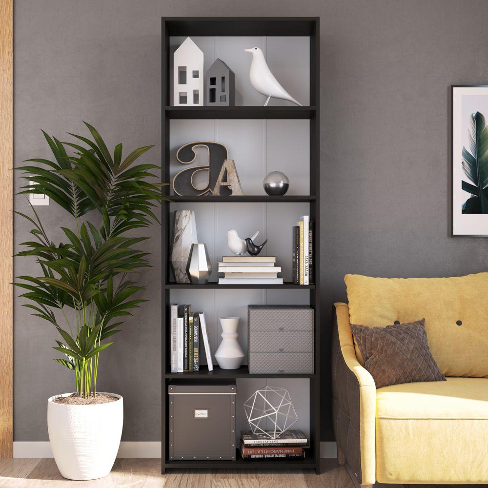Estante para Livros Multiuso organizadora alta 63cm Funcionale MO060 Art in Móveis
