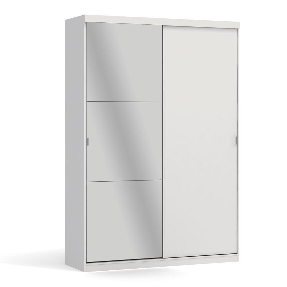 Guarda-Roupa Smart 2 Portas Correr 3 Gavetas A529 Kappesberg