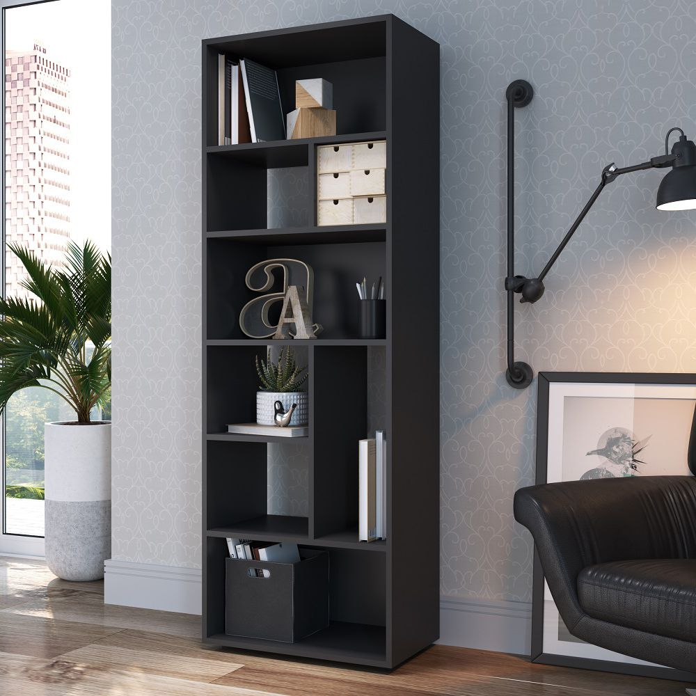 Livreiro Multiuso 55x160cm Modern Office EST-O004 Estilare