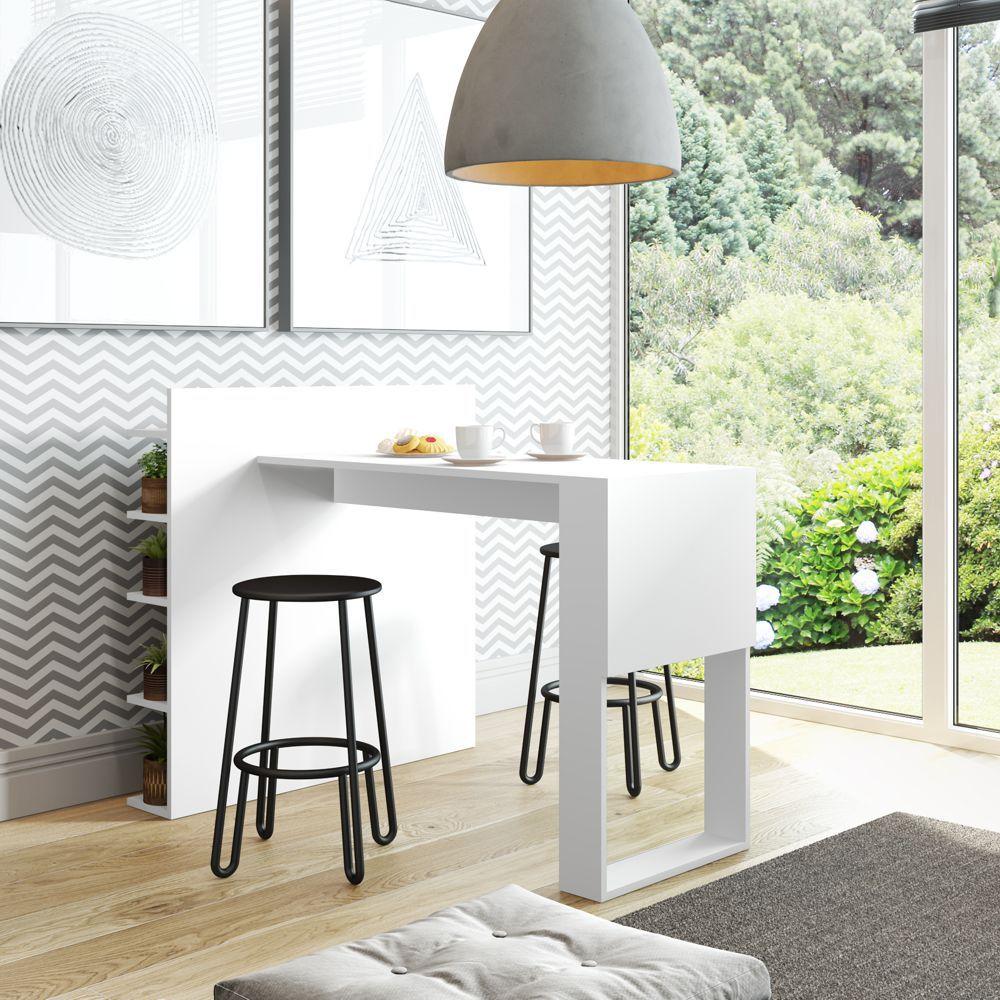 Mesa com painel multiuso 101,5cm 1002 Smart Be Mobiliário