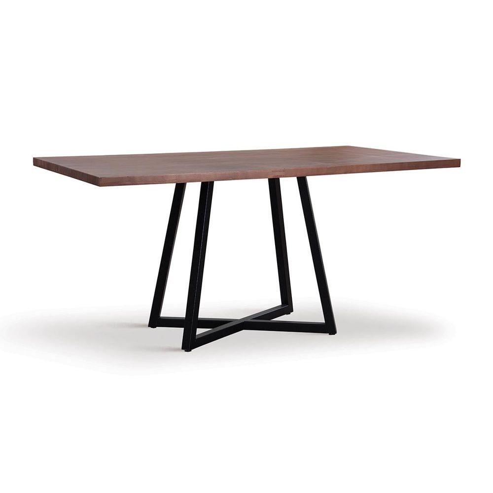 Mesa de jantar estilo industrial 2,00m Karenina DAF Mobiliário