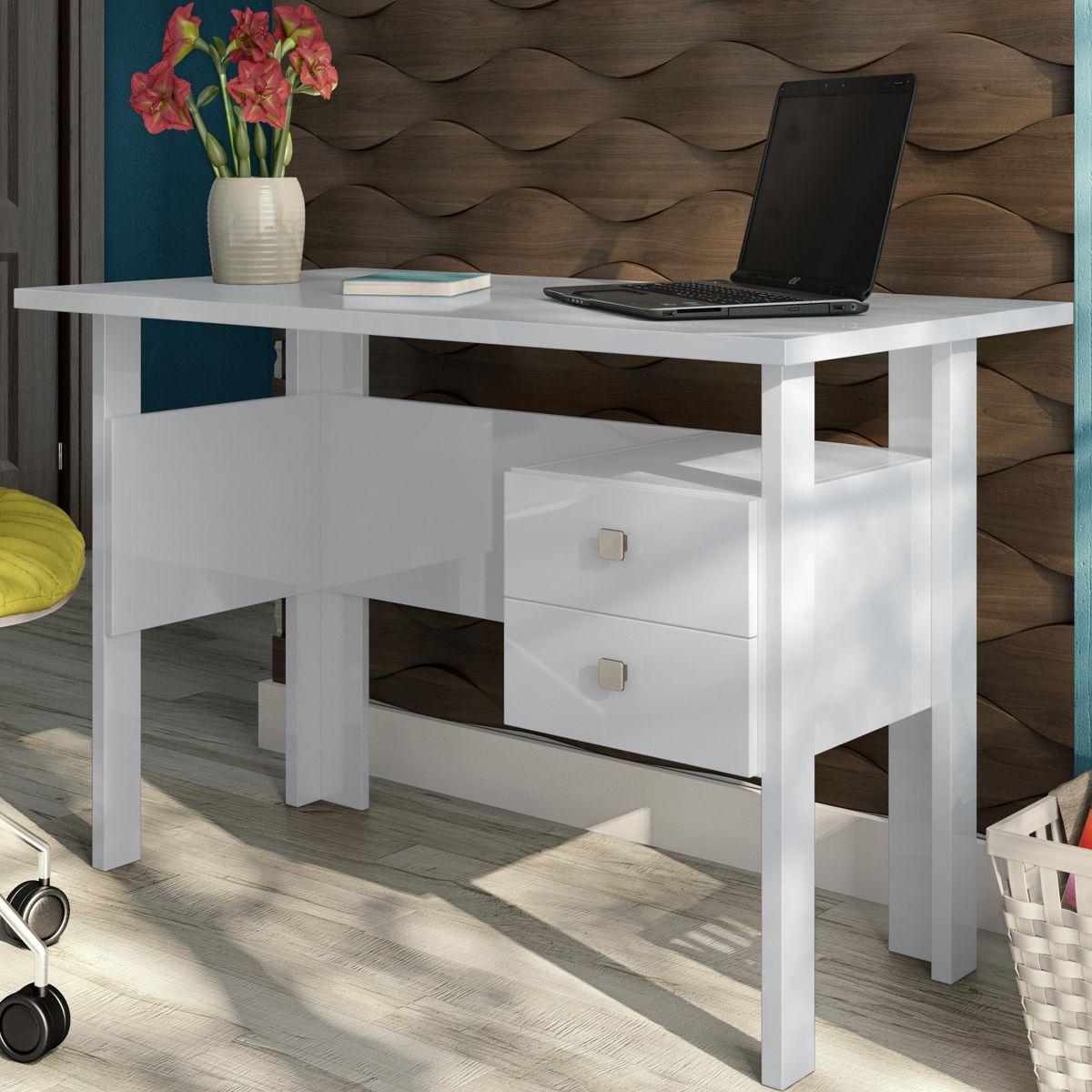 Mesa Escritório e Estudo para Computador MDF C216 Dalla Costa