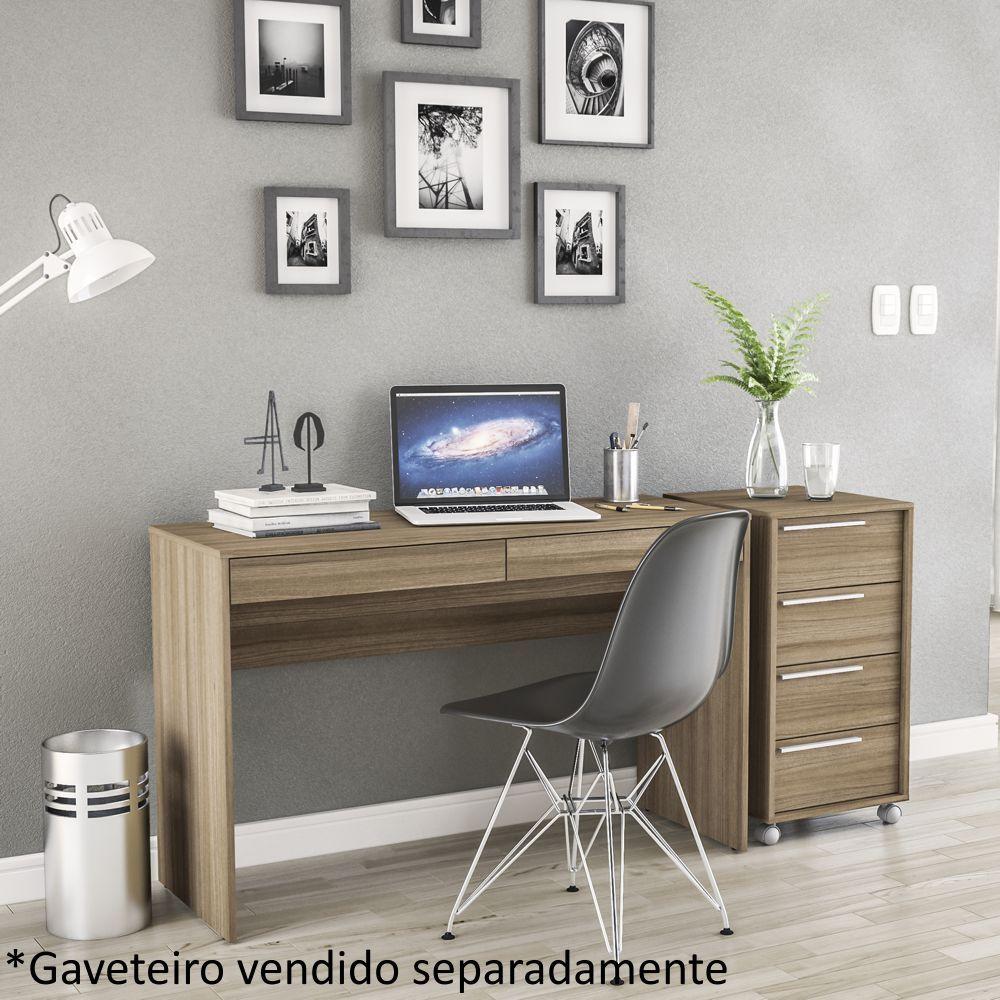 Mesa Escrivaninha Penteadeira Lindóia 2 Gavetas Politorno