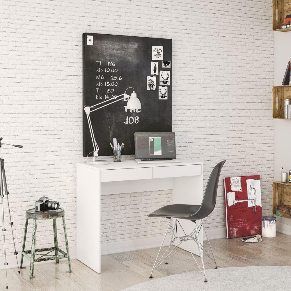 Mesa ou Escrivaninha 2 Gavetas Tijuca Politorno