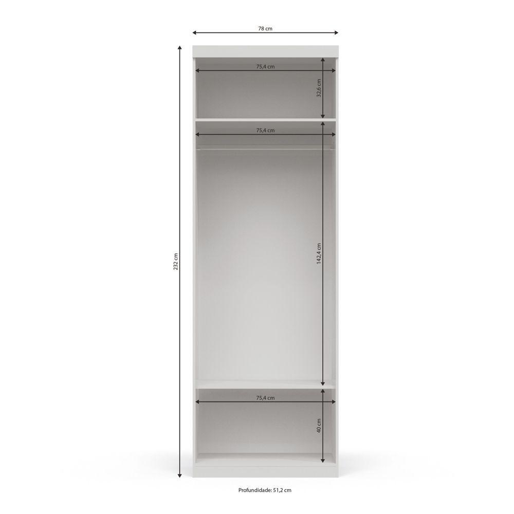 Módulo Smart 2 Portas A532 Kappesberg