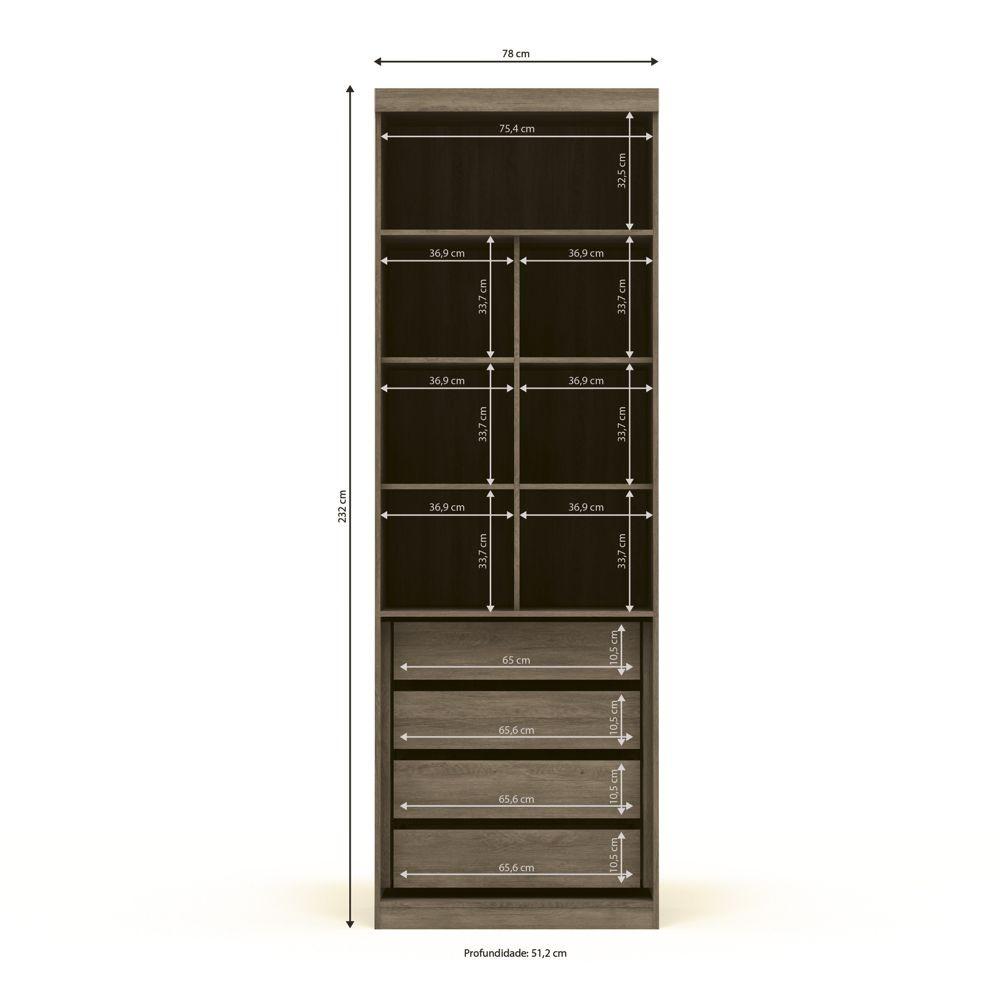 Módulo Smart 2 Portas A533 Kappesberg