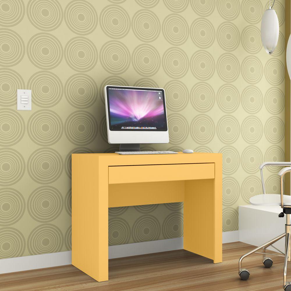 Mesa para Computador e Escrivaninha 1 Gaveta 90cm MSM 421 Movelbento