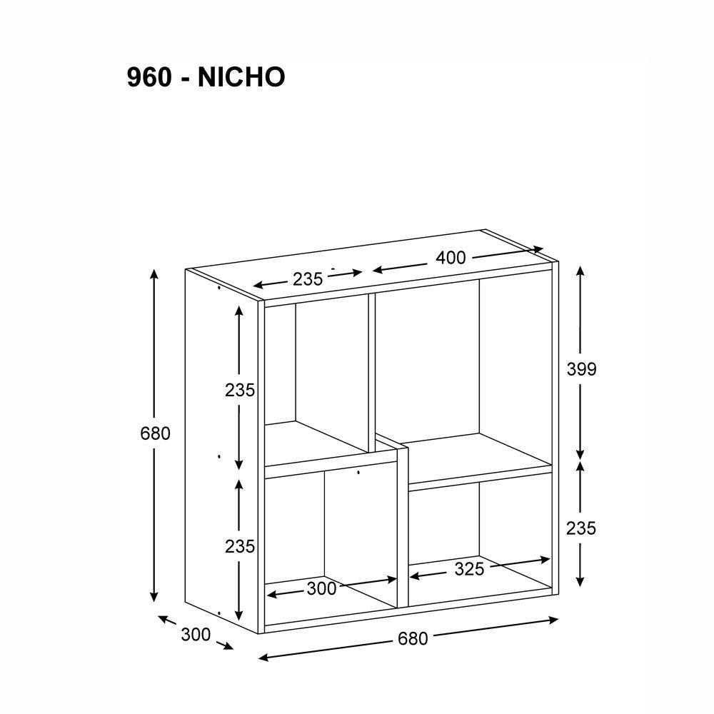 Nicho Componível Multiuso 960 Multimóveis