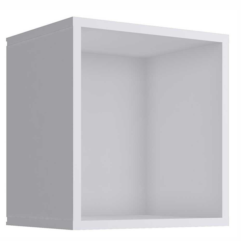Nicho Cubo 33x35cm Branco KD1500 Quiditá